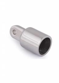 Eindkap buis met oog - RVS - 19 mm