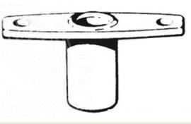 Nylon Roeidolpotje Inbouw Dekmontage