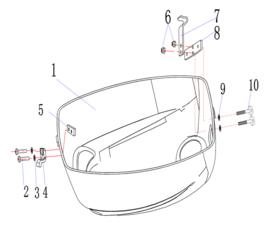 Hidea / Nimarine Onderdelen (F4.0)