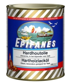 Hoogglans Epifanes Hardhoutolievernis met UV filter (0500 ml)