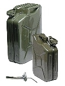 Jerrycan | 10 Liter |  Staal | Army Look
