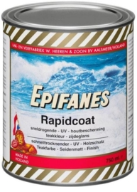 Zijdeglans Epifanes Rapidcoat met UV filter