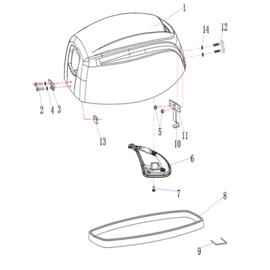 Hidea / Nimarine Onderdelen (F15)