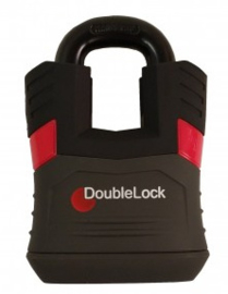 DoubleLock Padlock RED