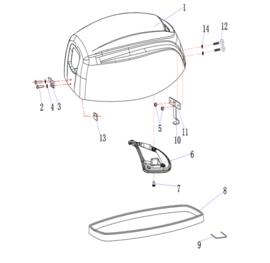 Hidea / Nimarine Onderdelen (F15HE)