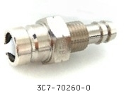 Brandstof Connector Tohatsu Engine Male - 120/140 PK 2takt) (3C7-70260-0)