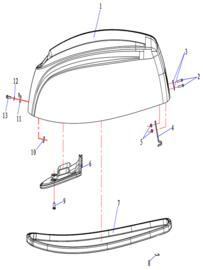 Hidea / Nimarine Onderdelen (F9.9FE)