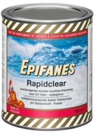 Zijdeglans Epifanes Rapidclear met UV filter (750ml)