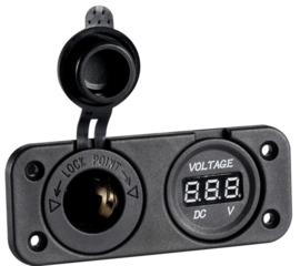Dashboard | Voltmeter | 12 V | Osculati