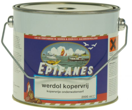 Werdol Kopervrij 2000 ml - Zwart