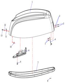 Hidea / Nimarine Onderdelen (F9.9)
