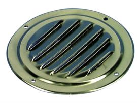ROCA Ventilatierooster Messing 125