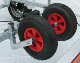Centreerset voor uw boottrailer (2 wielen)