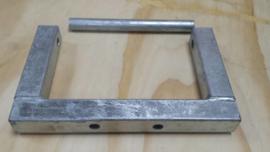 Houder Kielrol Koker 60 (lengte 300 mm)
