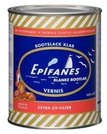 Hoogglans Epifanes Bootlak Blank met extra UV filter (0250 ml)