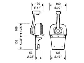 Ultraflex B73 Schakelkast (Opbouw - Topmontage)