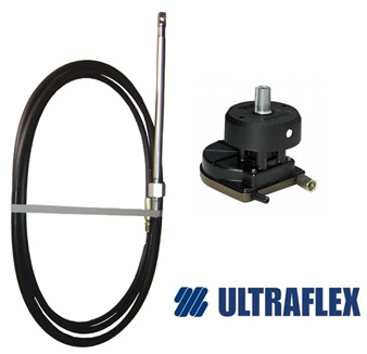 Ultraflex Stuurkop T67 + Kabel M58  (22 Foot)