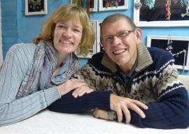 Ad en Karin Scheurwater waren weer op bezoek!
