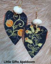Batik Maluku oorbellen