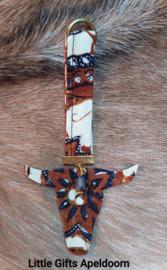 Batik sleutelhanger nr 2