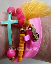 Ibiza styl wrap armband