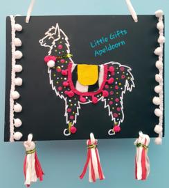 workshop Lama met taart!!!!!!!!!