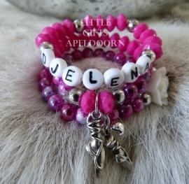 Armbandjes maken met je eigen naam!