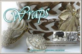 Workshop Sieraden maken  Wraps! Wikkelarmbanden met kralen/bedels in div.uitvoeringen