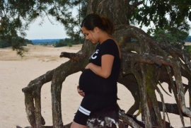 Zwangerschaps Fotoshoots op lokatie