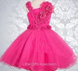 Bijzonder mooie jurk voor Prinsesjes! 8-9 jaar