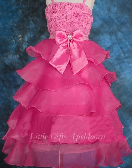 Bijzonder mooie jurk voor Prinsesjes! 7 a 8 jaar