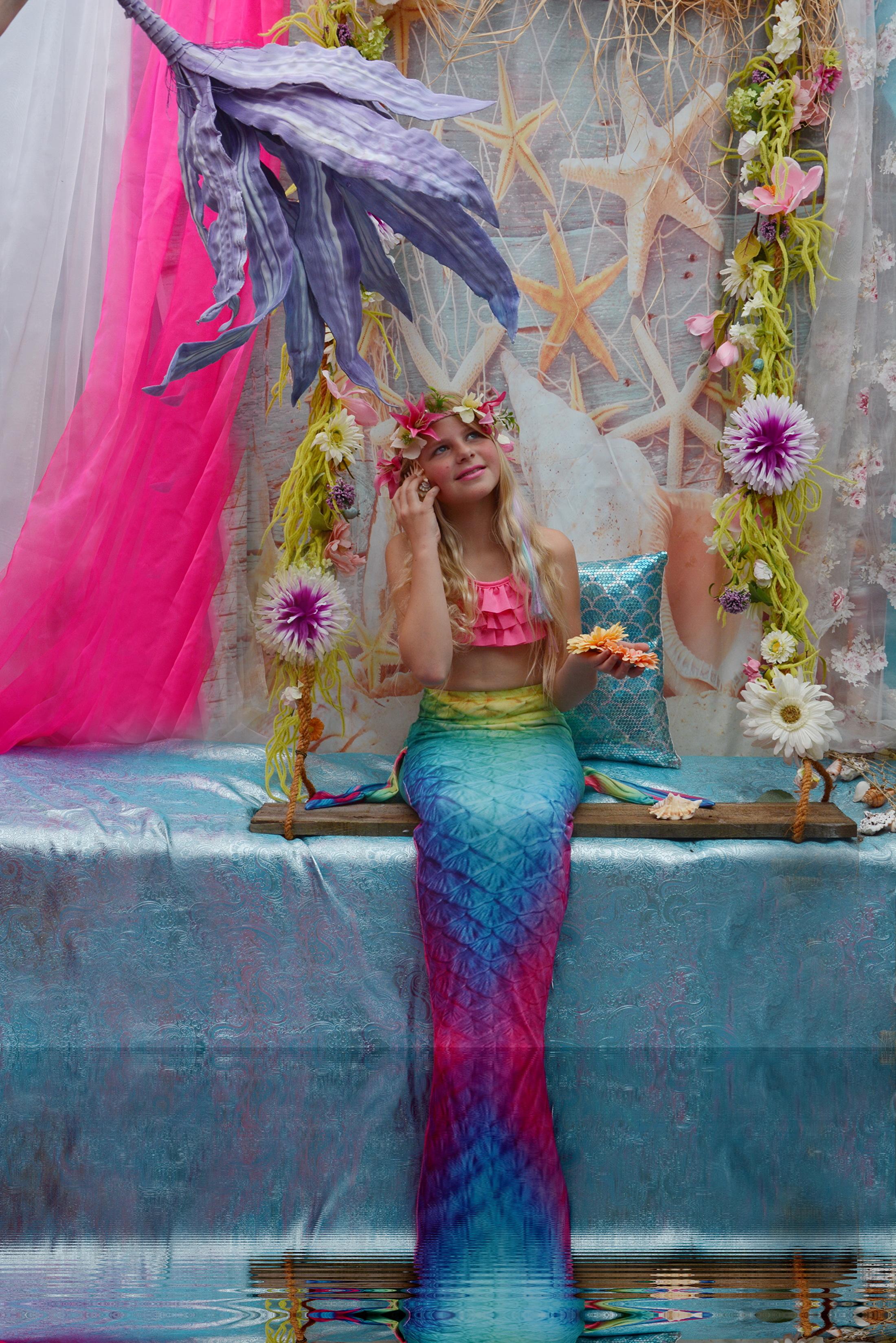 Zeemeermin Kinderfeest, Mermaid Fotoshoot Apeldoorn
