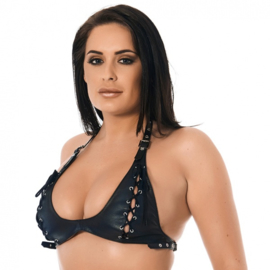 RIMBA - BRA WITH LACE-UP FRONT*
