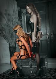 Dress with 3 pcs Bondage Set*