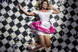 Pink Fantasy German Girl Dress
