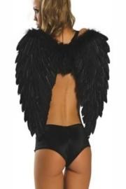 Angel Wings in zwart