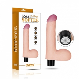 "VIBRATING REAL SOFTEE 8"" REALISTIC*"