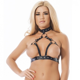 RIMBA - OPEN BRA ATTACHED TO THE COLLAR