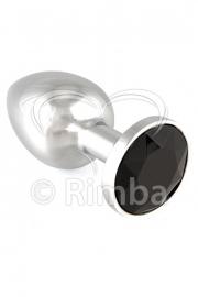 Rimba - Buttplug KLEIN met kristal (unisex)