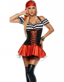 Secretly Seductive Treasure Pirate Costume