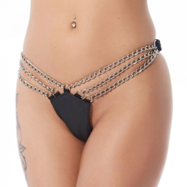 RIMBA - BRIEFS WITH CHAINS. ADJUSTABLE WITH PRESS STUDS