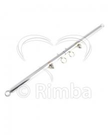 Rimba - Spreidstang met 4 ringen, verstelbaar 55 - 85 cm.