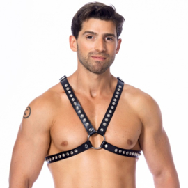 RIMBA - CHEST HARNESS DECORATED WITH STUDS