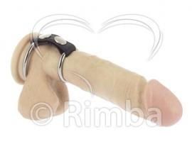 Rimba - Penisartikel met Metaal Ringen. Ø 35 en 50 mm