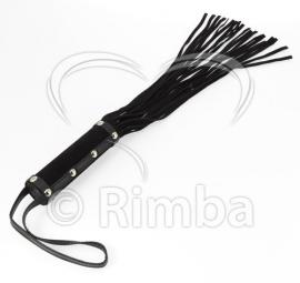 Rimba - Zweep van suede met 19 strengen