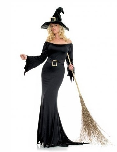 Cauldron Witch Costume