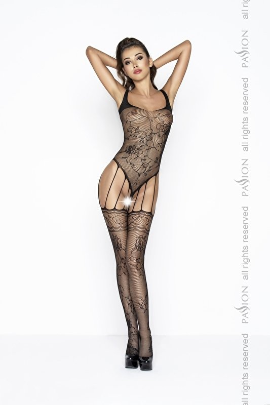 Sexy bodystocking in zwart* Rood of wit*