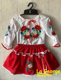 Costumaș tradițional fetițe