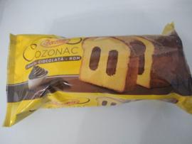Boromir Cozonac cremă cu ciocolată - rom 450 Gr