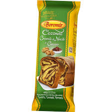 Boromir Cozonac cu Cremă de Nucă și Cacao  400 Gr